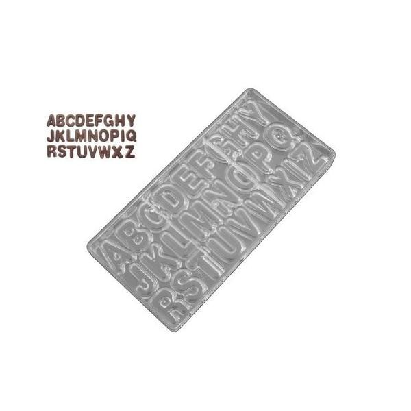 英語チョコレート金型アルファベット(文字AZ )|twilight-shop