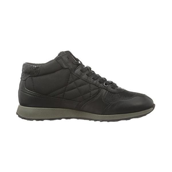 ECCO レディース Sneak Zip カラー: ブラック