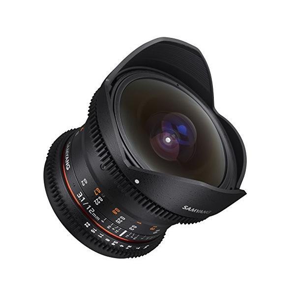 Samyang VDSLR II 12?mm t3.1?Ultra Wide Cine魚眼レンズレンズ