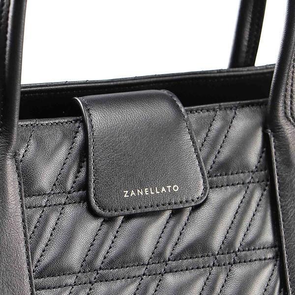 Zanellato ザネラート Duo デュオ メトロポリタン ゼータ ハンドバッグ ショルダーバッグ イタリア製 鞄 カーフレザー