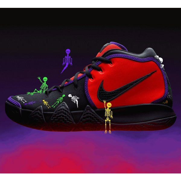 half off 264d8 1a635 NIKE KYRIE 4 DOTD TV PE 1 ナイキ カイリー4 DAY OF THE DEAD ...