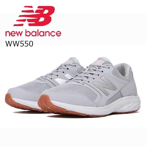 ニューバランス レディース ウォーキングシューズ new balance WW550GY12E 靴 グレー WW550 くつ 2018年秋冬 NB