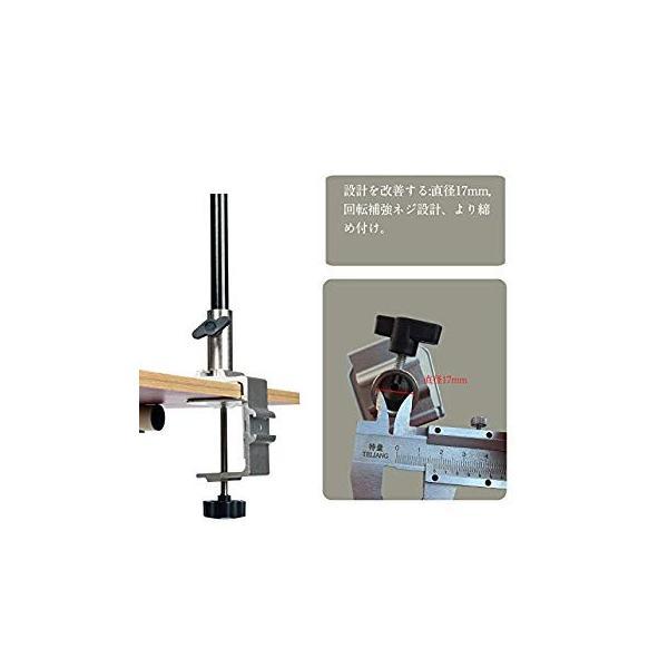 ランタンスタンド テーブルタイプ ランタンポール コンパク ランタンハンガー ランタンフック付き 収納袋付きランタンスタンド (シルバー) twopieces 02