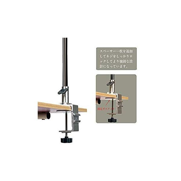 ランタンスタンド テーブルタイプ ランタンポール コンパク ランタンハンガー ランタンフック付き 収納袋付きランタンスタンド (シルバー) twopieces 05
