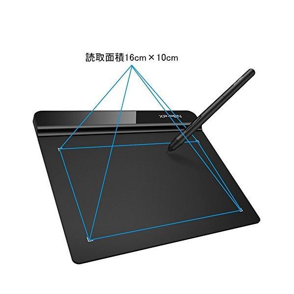 XP-PEN ペンタブレット ペン入力 OSU!専用XP-PENペンタブ お絵描き入門モデル Mサイズ ブラック StarG640|twopieces|04