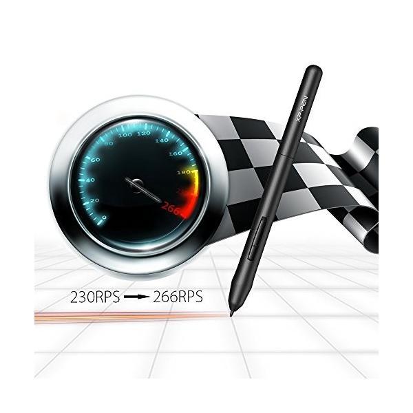 XP-PEN ペンタブレット ペン入力 OSU!専用XP-PENペンタブ お絵描き入門モデル Mサイズ ブラック StarG640|twopieces|08