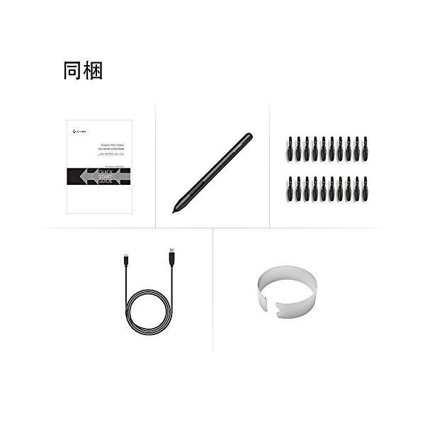 XP-PEN ペンタブレット ペン入力 OSU!専用XP-PENペンタブ お絵描き入門モデル Mサイズ ブラック StarG640|twopieces|09