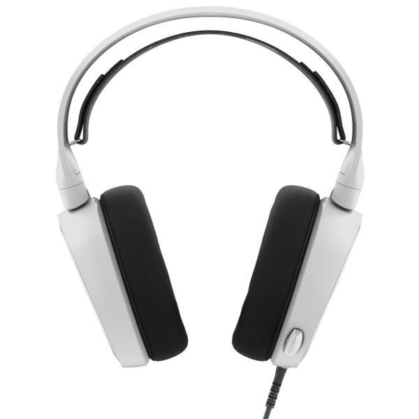 【国内正規品】密閉型 ゲーミングヘッドセット SteelSeries Arctis 3 White 61434 twopieces 02