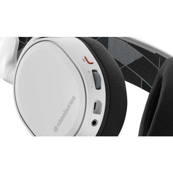 【国内正規品】密閉型 ゲーミングヘッドセット SteelSeries Arctis 3 White 61434 twopieces 03