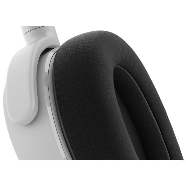 【国内正規品】密閉型 ゲーミングヘッドセット SteelSeries Arctis 3 White 61434 twopieces 04