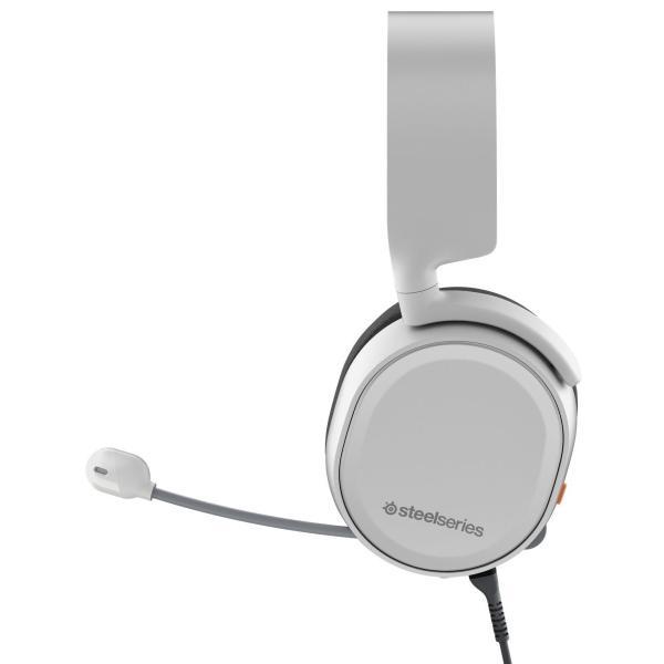 【国内正規品】密閉型 ゲーミングヘッドセット SteelSeries Arctis 3 White 61434 twopieces 05