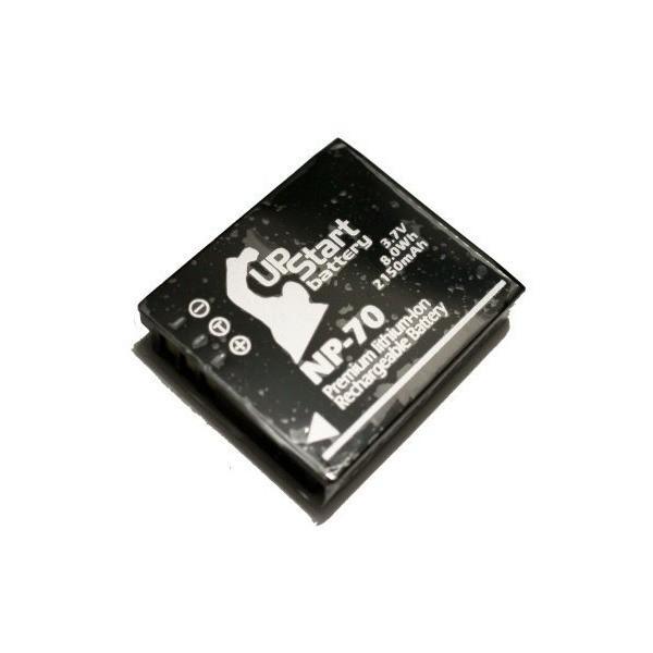 Panasonic DMC-FX150K 互換バッテリー + 充電器 + 車内アダプター : Panasonic NP-70 カメラ 対応バッテリー