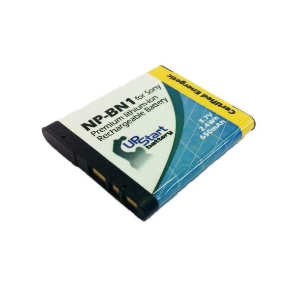2xパック - Sony Cyber-shot DSC-TX5B 互換バッテリー + 充電器 + 車内アダプター : Sony NP-BN1 カメラ