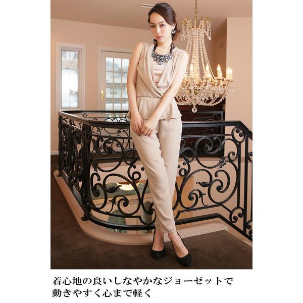 d8881c45fb3dc ... パーティードレス 結婚式 大きいサイズ ロング ドレス ワンピースミモレ丈 30代40代50 ...