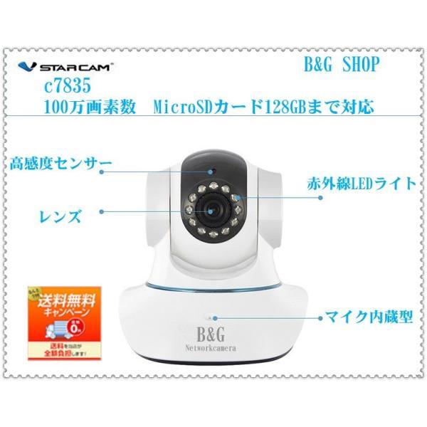 ネットワークカメラ ベビーモニター 防犯カメラ 100万画素 IPカメラ  遠隔操作 動体検知 赤外線暗視iPhone iPad スマートフォンPC対応 セキュリティーカメラ