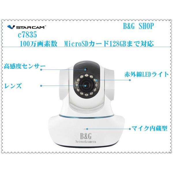 防犯カメラ 録画装置不要 ワイヤレス ネットワークカメラ ベビーモニター ペット監視カメラ  100万画素 日本語対応スマートフォンPCタブレットPC対応