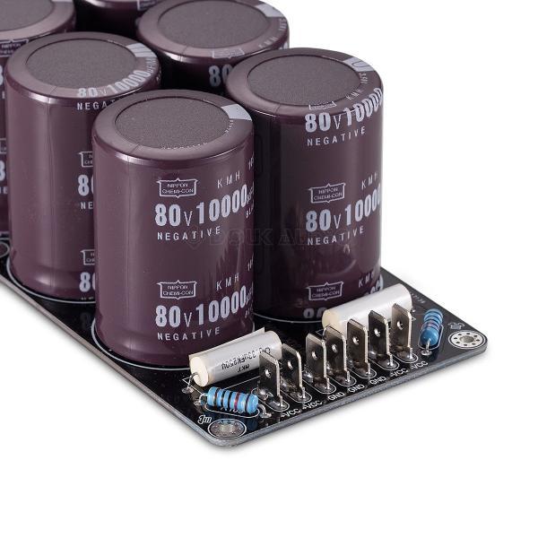 Nobsound Douk Audio A級 アンプ用8 * 10000uF / 80V電源基板