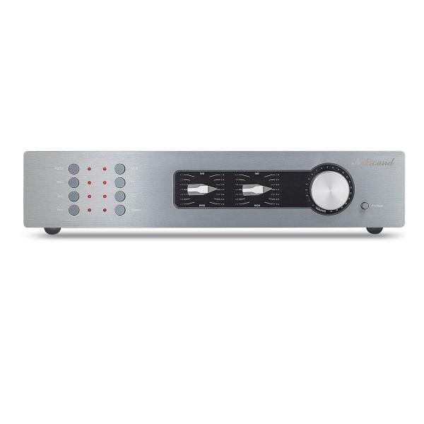 HiFiステレオプリアンプTrebleBassControl2.0CHオーディオプリアンプ高低音コントロール