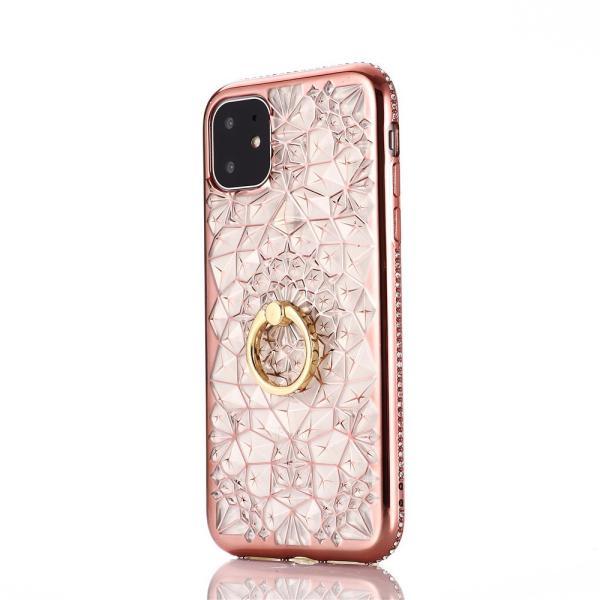 iPhone 11 / iPhone 11 Pro / iPhone 11 Pro Max ケース 2019 リング付き スタンド機能 透明 キラキラ 全面保護カバー 耐衝撃 擦り傷防止 スリム・薄型|tysj-online|02