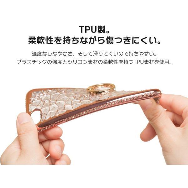 iPhone 11 / iPhone 11 Pro / iPhone 11 Pro Max ケース 2019 リング付き スタンド機能 透明 キラキラ 全面保護カバー 耐衝撃 擦り傷防止 スリム・薄型|tysj-online|11