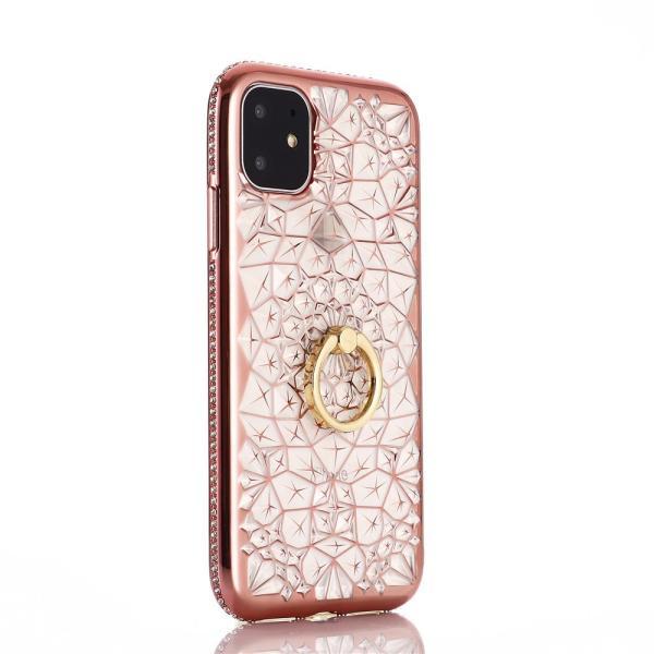 iPhone 11 / iPhone 11 Pro / iPhone 11 Pro Max ケース 2019 リング付き スタンド機能 透明 キラキラ 全面保護カバー 耐衝撃 擦り傷防止 スリム・薄型|tysj-online|07