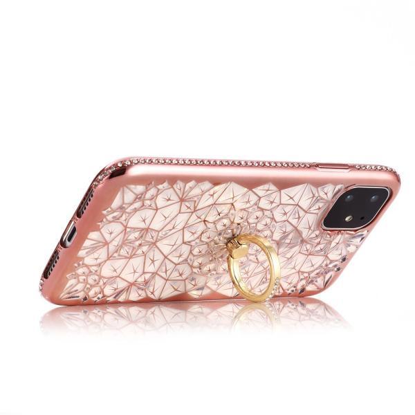 iPhone 11 / iPhone 11 Pro / iPhone 11 Pro Max ケース 2019 リング付き スタンド機能 透明 キラキラ 全面保護カバー 耐衝撃 擦り傷防止 スリム・薄型|tysj-online|08