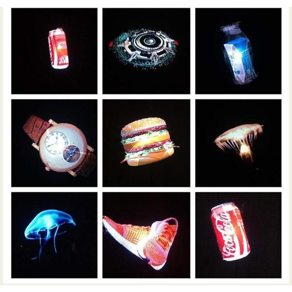 集客 販促 3Dホログラム広告プロジェクター 立体映像 広告ディスプレイ 3Dホログラム プロジェクター 回転式LEDファン 裸眼立体ディスプレイ 人目惹き|tysj-online|11