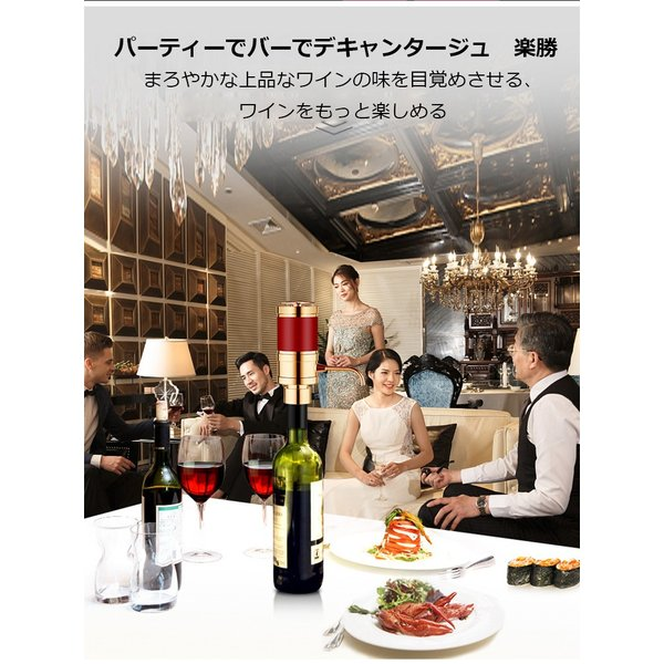 SORBO ワインエアレーター ワイン 焼酎 焼肉ワインバー ワインバー 飲食店 居酒屋 デキャンタ デキャンタージュ|tysj-online|15