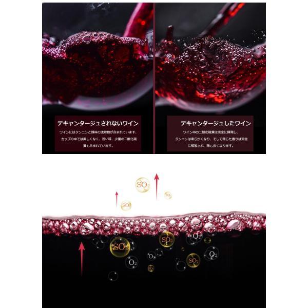 SORBO ワインエアレーター ワイン 焼酎 焼肉ワインバー ワインバー 飲食店 居酒屋 デキャンタ デキャンタージュ|tysj-online|05