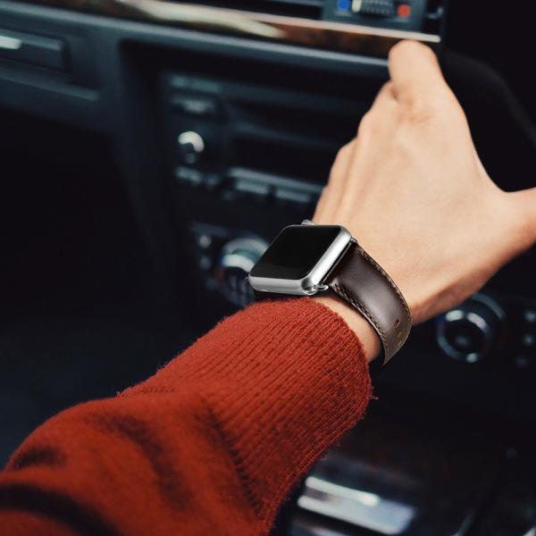 TOYOSO 時計ベルト 時計バンド Apple watch ベルト ステンレス アップルウォッチベルト 42mm コーヒー瘋紋様 メール便送料無料|tysj-online|06