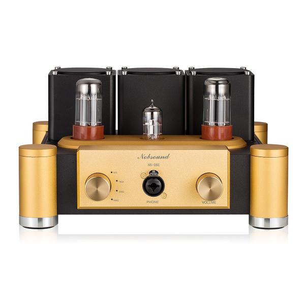 Nobsound 6SN7 ECC83 真空管 ヘッドフォンアンプ A級 ステレオ オーディオ アンプ Hi-Fi プリアンプ|tysj-shop|02