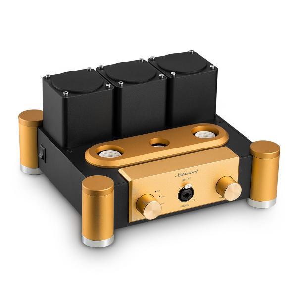 Nobsound 6SN7 ECC83 真空管 ヘッドフォンアンプ A級 ステレオ オーディオ アンプ Hi-Fi プリアンプ|tysj-shop|04