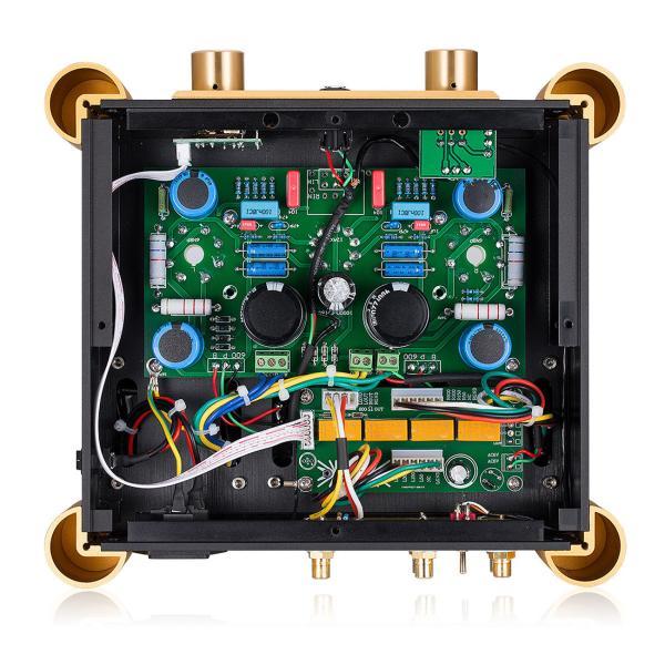 Nobsound 6SN7 ECC83 真空管 ヘッドフォンアンプ A級 ステレオ オーディオ アンプ Hi-Fi プリアンプ|tysj-shop|05