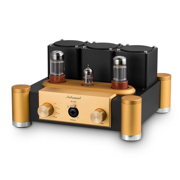 Nobsound 6SN7 ECC83 真空管 ヘッドフォンアンプ A級 ステレオ オーディオ アンプ Hi-Fi プリアンプ|tysj-shop|06