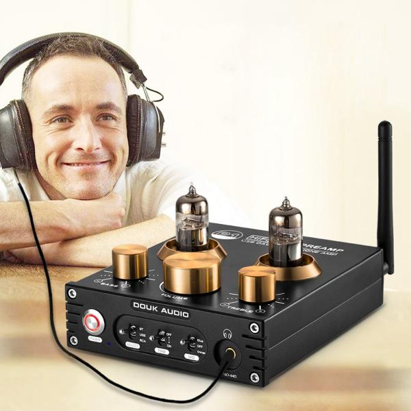 Douk Audio P1 HiFi Bluetooth 5.0 真空管プリアンプ USB DAC APTX プリアンプ tysj-shop 13