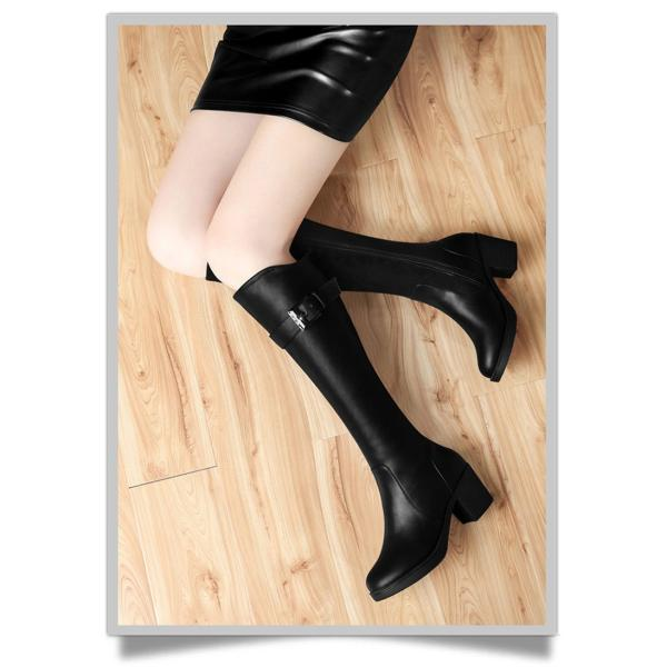 689a79d202be99 ... パーティー ブーツ長靴ロング ブーツ走れるパンプスレディース 黒ブーツ小さい大きいサイズさ美脚シューズ ...