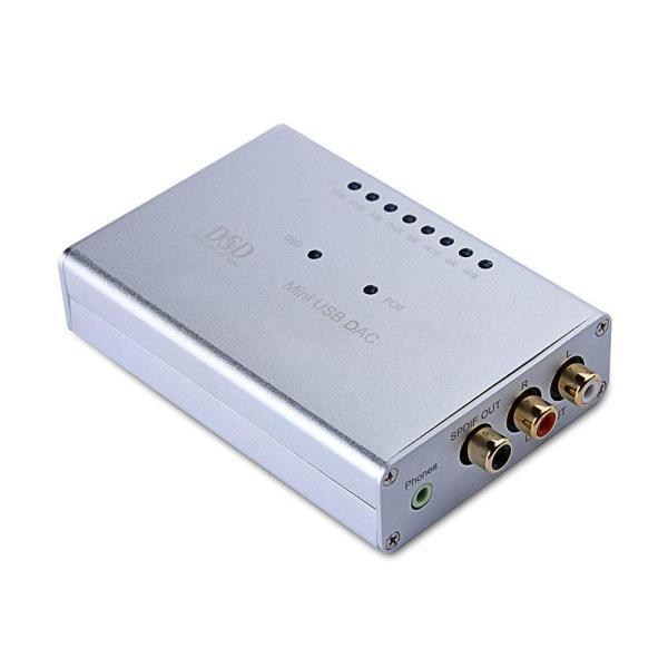 hifi 携帯ポヘッドフォンアンプ USB DSD DAC デコーダ AK4490 XMOS U8 DOP 同軸 サポート DSD256