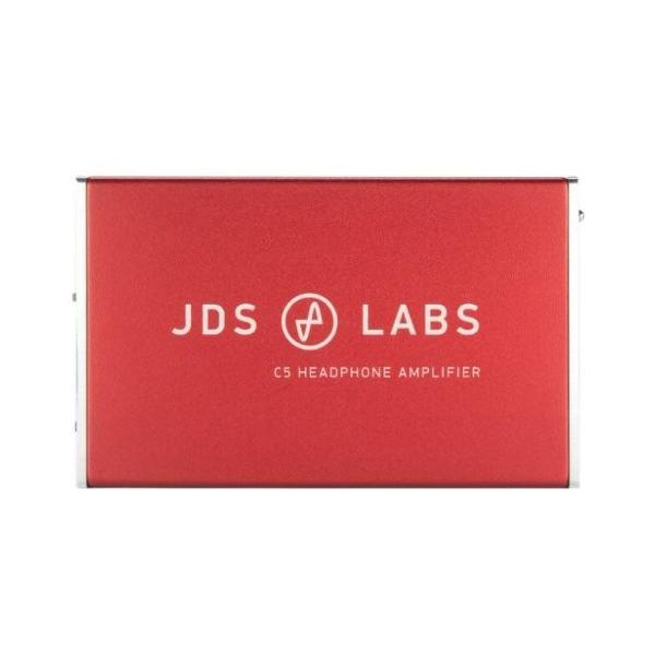 国内正規品 JDSLABS C5 Headphone Amplifier Red ヘッドホンアンプ