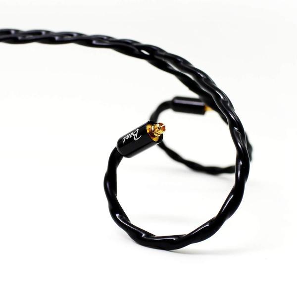 Beat Audio イヤホン・ヘッドホン用リケーブル Emerald BEA-3652 ミニプラグ(4極)⇔MMCX 1.2m