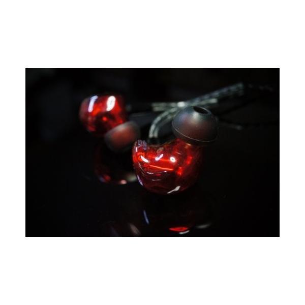 国内正規品 HEIR AUDIO IEM 8AI RED 8xバランスドアーマチュア イヤホン(ケーブル脱着式)
