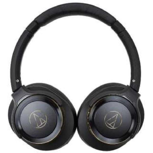 オーディオテクニカ Bluetooth対応ワイヤレスヘッドホン(ブラックゴールド)audio-technica ATH-WS660BT BG