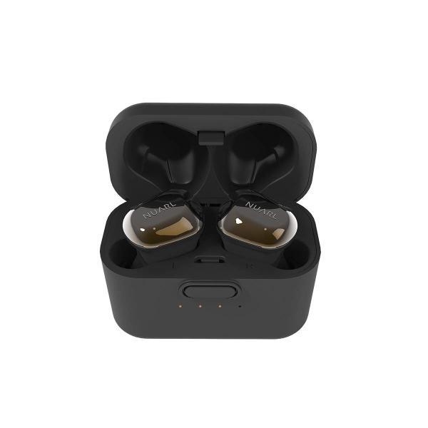 NUARL 完全ワイヤレスイヤホン Bluetooth5 高音質HDSS採用 IPX4防水 最大再生時間35時間 片側紛失サポート有 マイク
