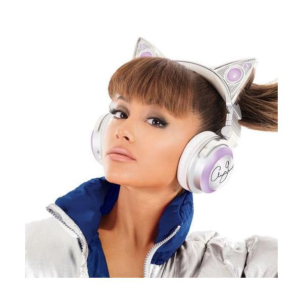 ネコ耳ヘッドフォン 第2世代 白色 8色 自由変換5種 Bluetooth マイク 内臓 USB LED 並行輸入品