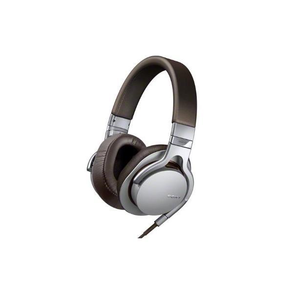 SONY 密閉型ヘッドホン ハイレゾ音源対応 リモコン・マイク付 シルバー MDR-1RMK2/S