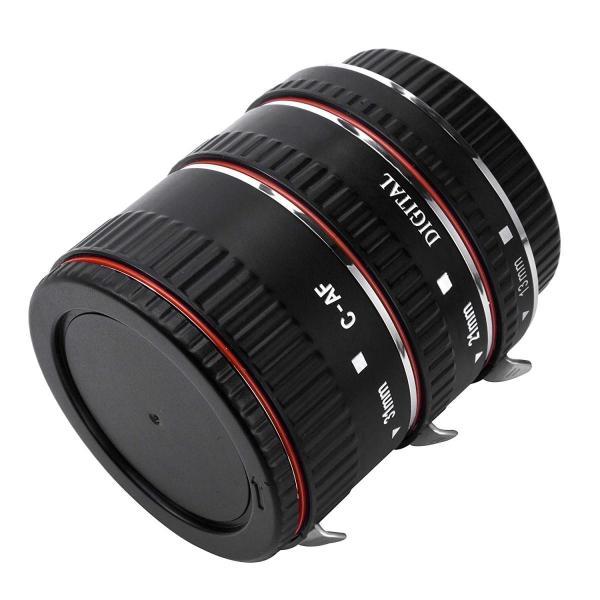 Zenic 接写リング デジタル接写リングセット キャノン 一眼レフカメラCanon用オートフォーカスエクステンションチューブ フルサイズ対