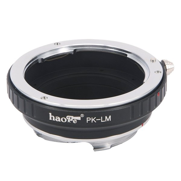 Haogeレンズマウントアダプタfor Pentax Kマウントレンズto Leica m-mountカメラなどm240、m240p、m26