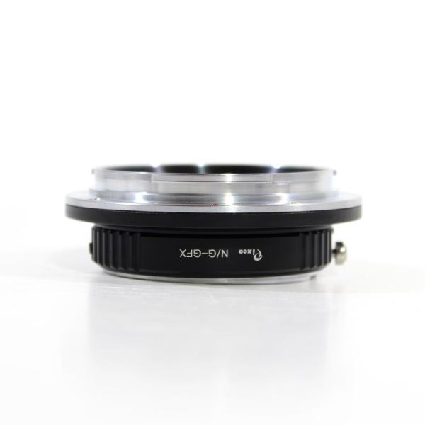 (バシュポ) Pixco マウントアダプター Nikon G レンズ- Fujifilm G-Mount GFXマウントカメラ対応「NG-G