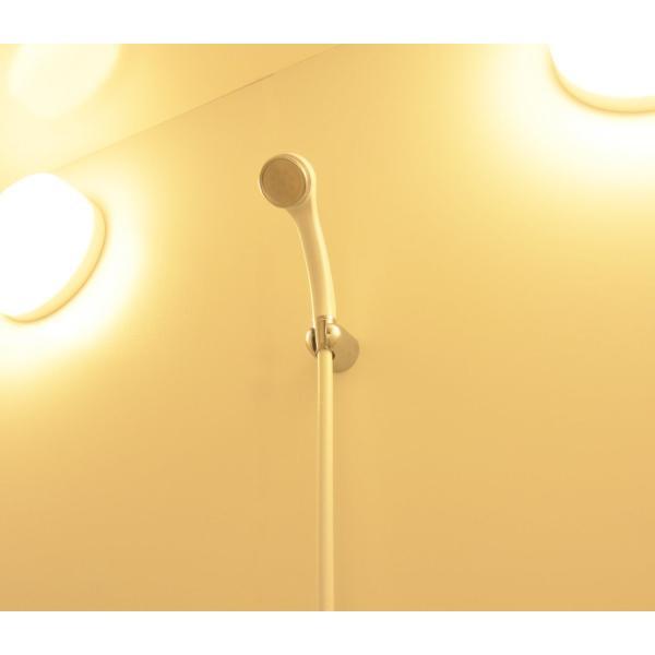 カクダイ リラックスシャワーホースセット 1.6m ホワイト 366-900-W|tywith2|06