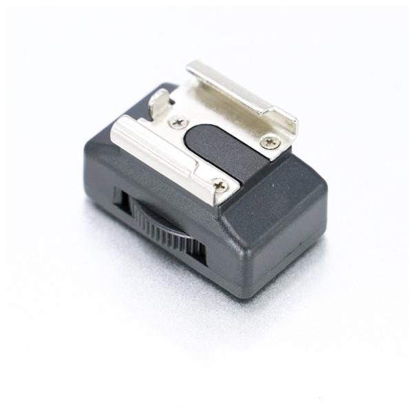 360°どの向きでも固定可能 三脚ネジ(メス)ー汎用型 コールドシュー 変換アダプター