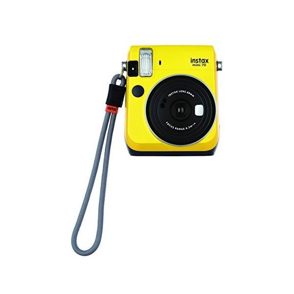 FUJIFILM インスタントカメラ チェキ instax mini70・90用ハンドストラップ グレー 315363
